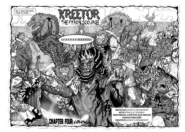 Kreetor #4, page 2 & 3