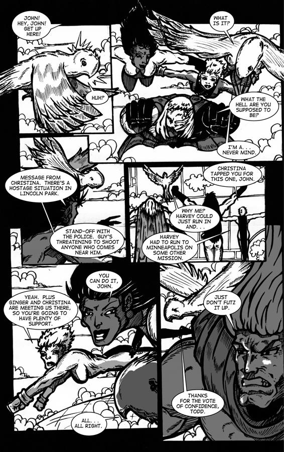 Manimal Instincts, page 5