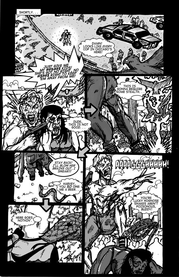 Manimal Instincts, page 6