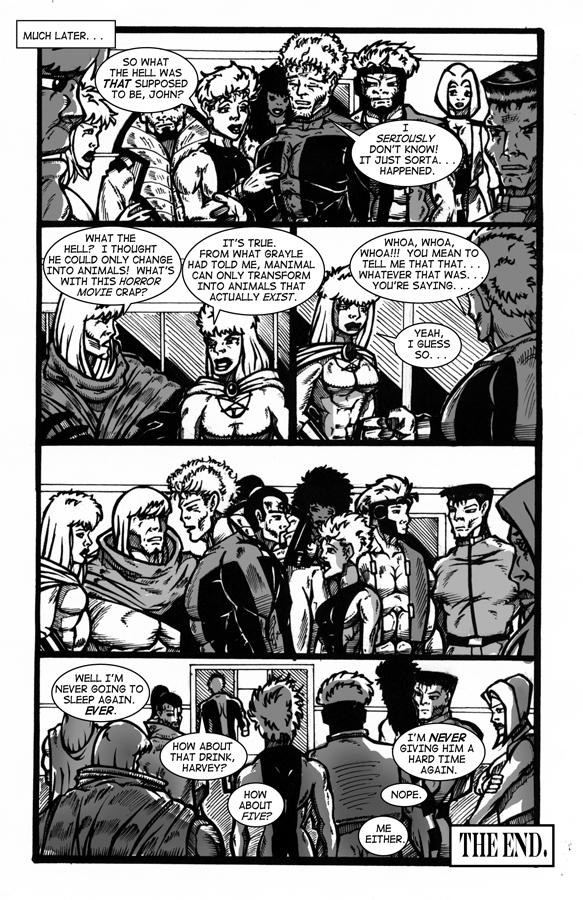Manimal Instincts, page 10