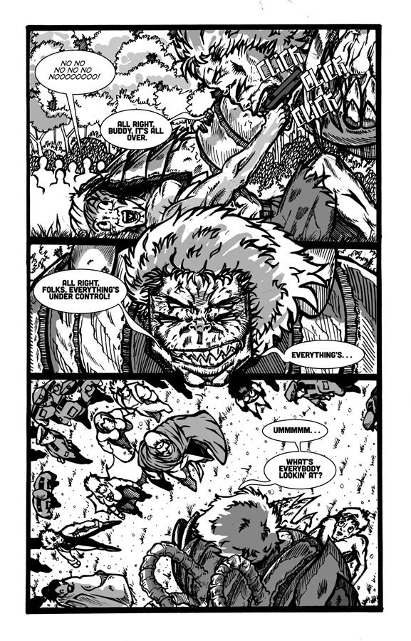 Manimal Instincts, page 9